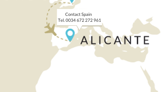 contact in spain